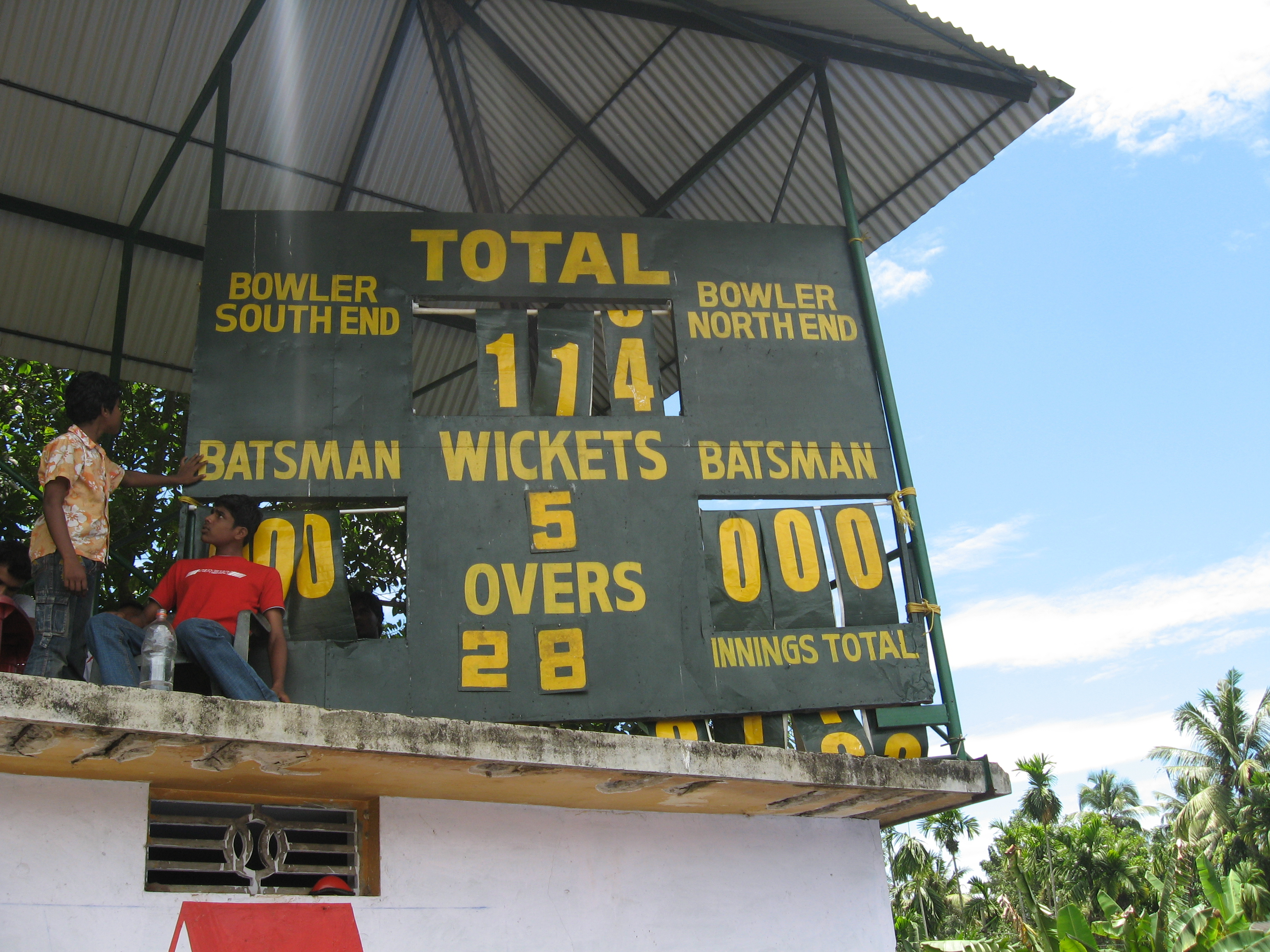 Thripunithura_Cricket_Club_Ground_score_board